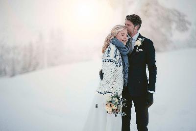 Bröllop i Sälen