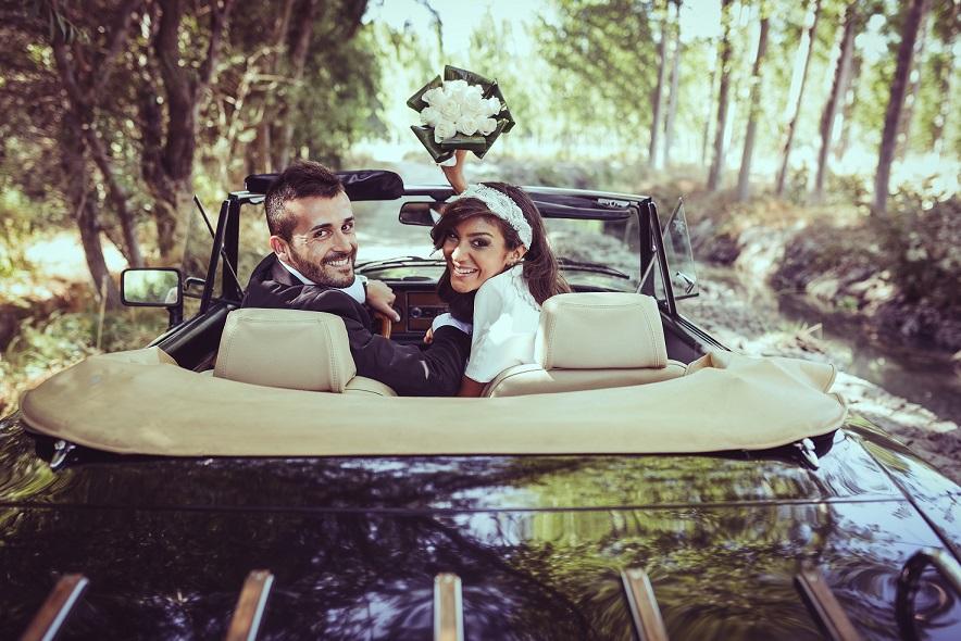 Bröllopsbil Cabriolet