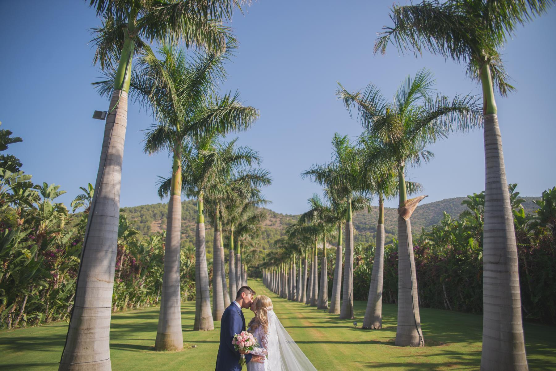 Bröllop i södra Spanien